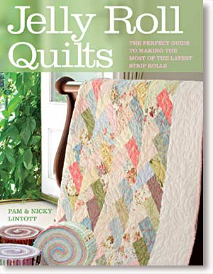 Creative Grids Uk Ltd Jelly Roll Quilts Book By Pam And