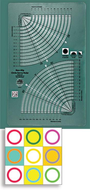 creative grids  uk  ltd creative grids u00ae circle savvy ruler