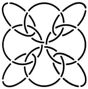 Creative Grids Uk Ltd Quilt Stencil 4 Inch Circles Amp Ovals