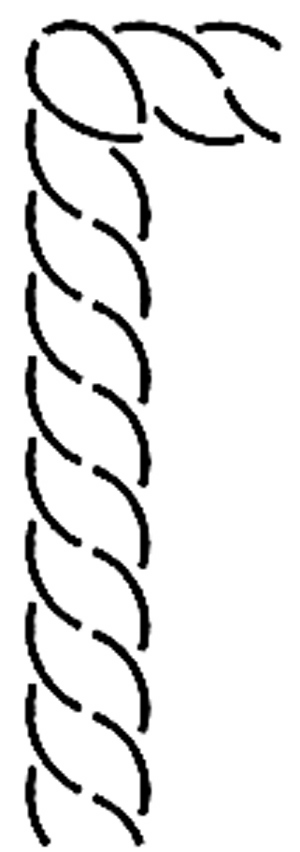 Creative Grids Uk Ltd Quilt Stencil Border Corner 1 189 Quot